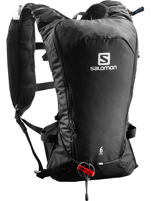 Salomon Agile 6 Backpack Set Black
